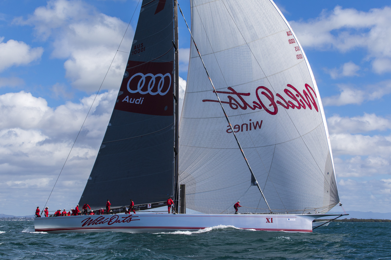 A record breaking run is in the wind for the Rolex Sydney Hobart race