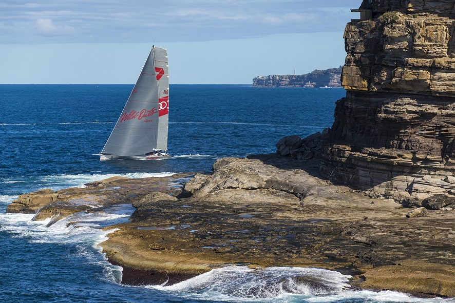 """SUPERMAXI YACHT """"WILD OATS XI""""  RETURNS TO OCEAN RACING IN THIS WEEKEND'S  LAND ROVER SYDNEY GOLD COAST RACE"""